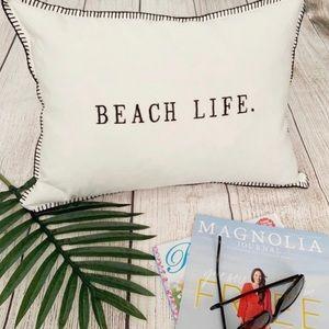 Rae Dunn Beach Life Decorative Pillow